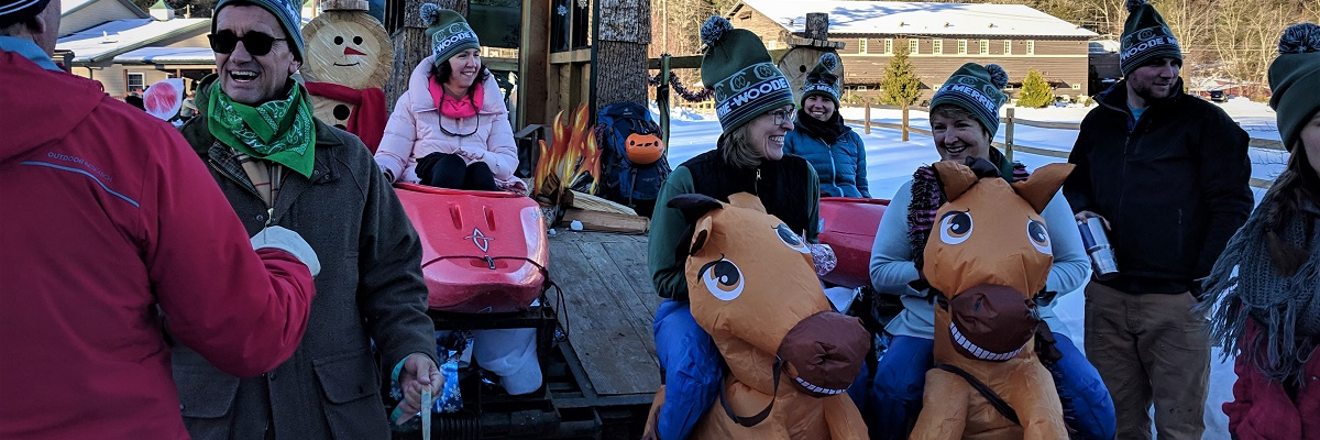Community Celebrates at Christmas Parade Block Party
